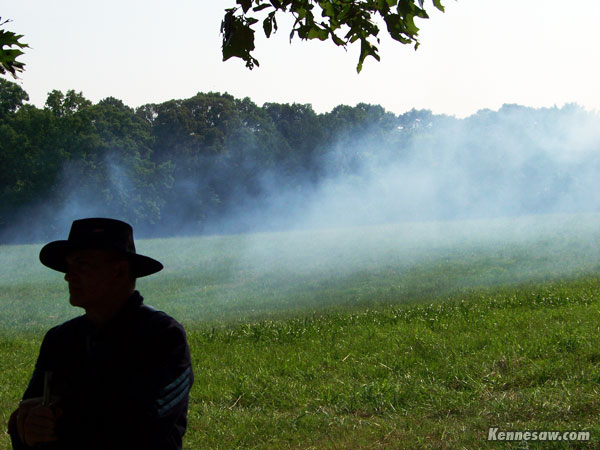 Smoke on the battlefield