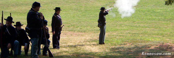 Civil War Weapons Demonstration