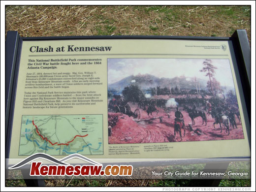 Clash at Kennesaw