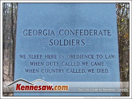 Georgia Confederate Soldiers