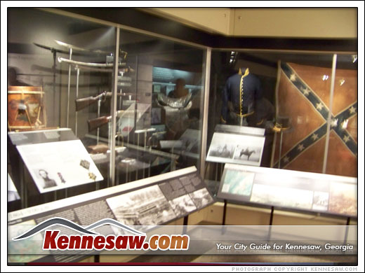 Inside the Kennesaw Mountain Museum