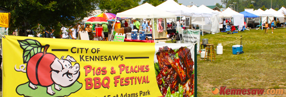 Kennesaw Pigs and Peaches Barbeque Festival