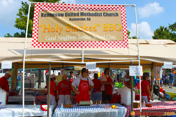 Holy Smoked BBQ vendor