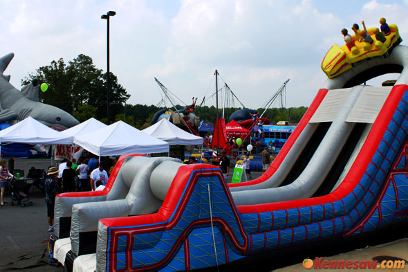 Enjoy the huge kids zone