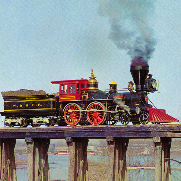 The Famous General Train from the Great Locomotive Chase