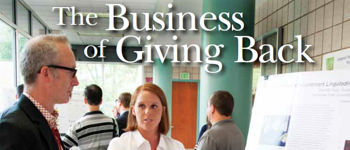 The Business of Giving Back