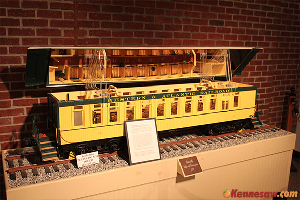 Western and Atlantic Model Train